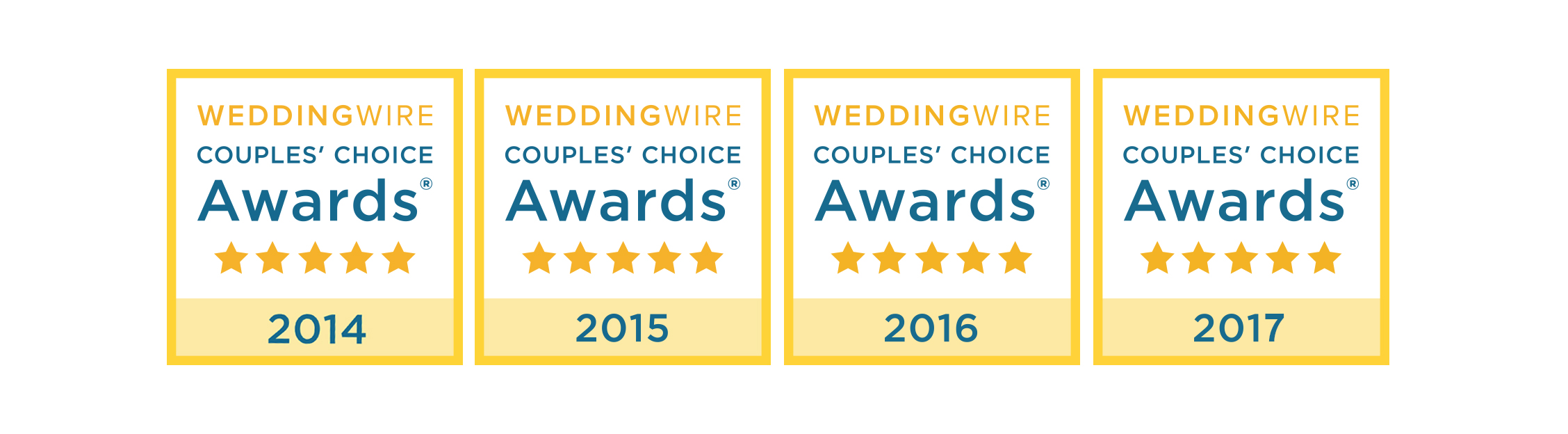 Couple's Choice Wedding Wire Award Jerry Wang Photography
