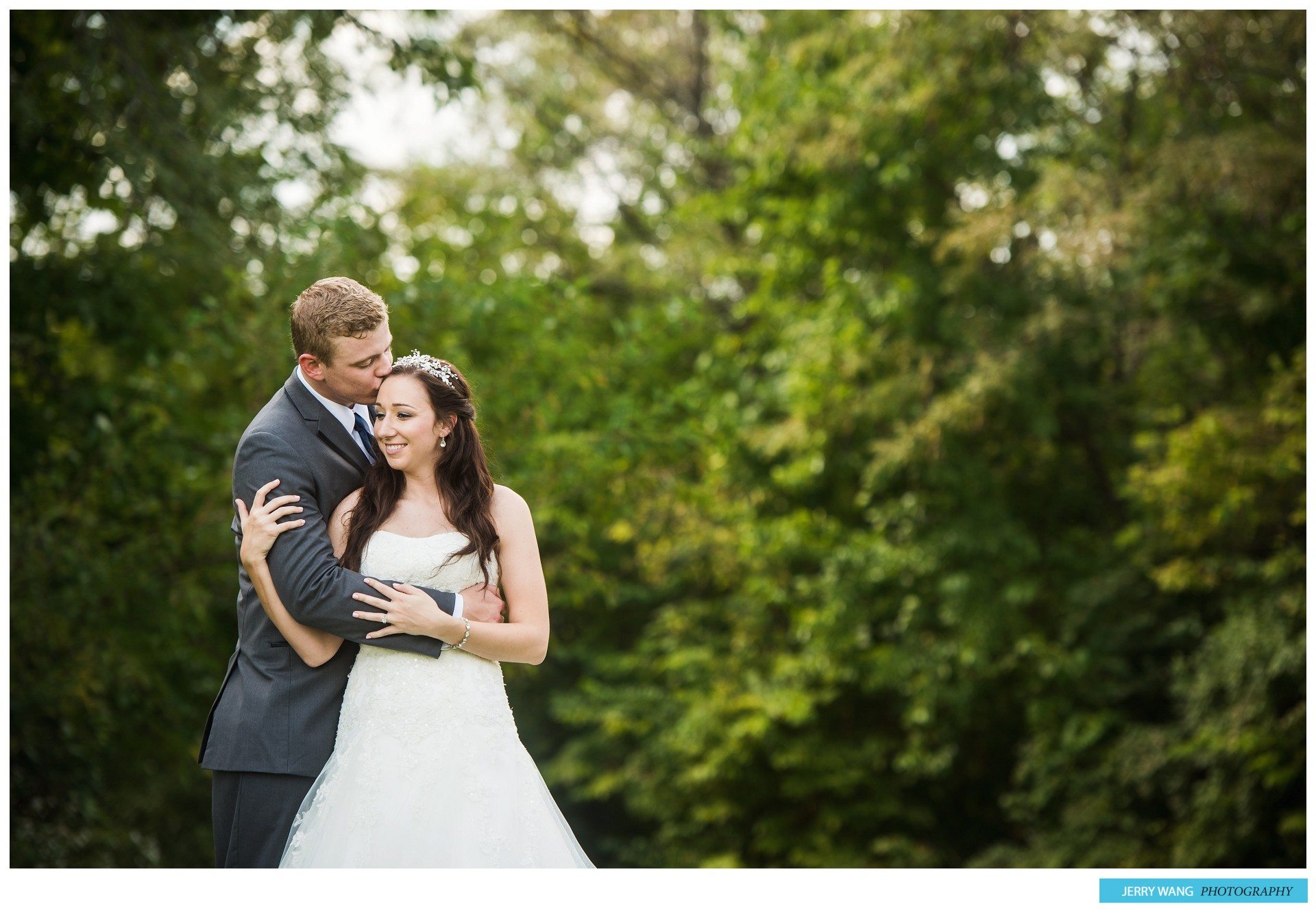 Grain Valley, Missouri Fall Outdoor Wedding