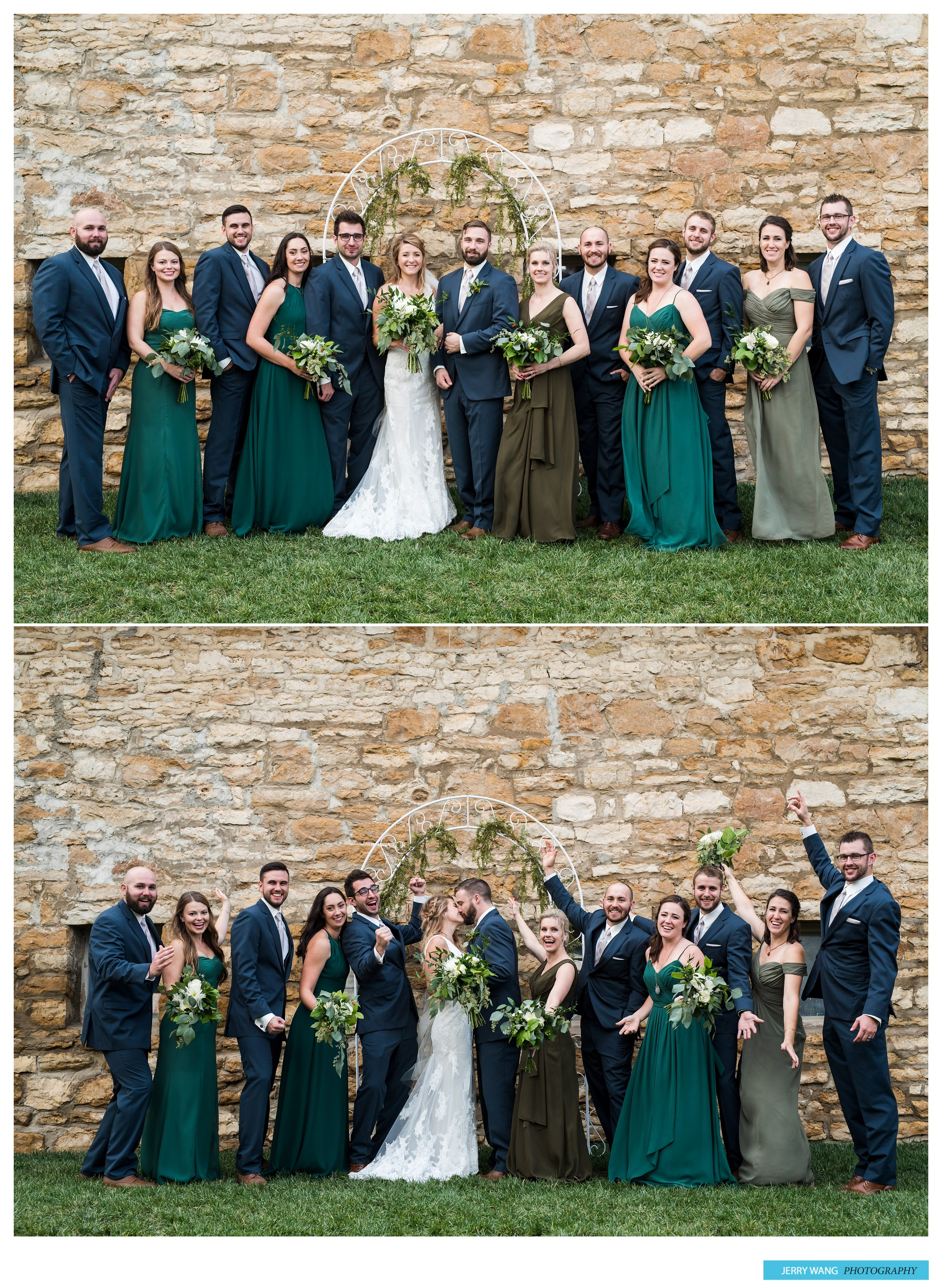 L&N | Lawrence Kansas Fall Wedding | Cider Gallery - Jerry ...